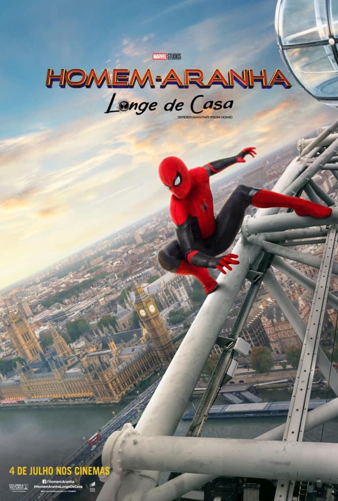 Sony divulga novos pôsteres de Homem-Aranha: Longe De Casa 3