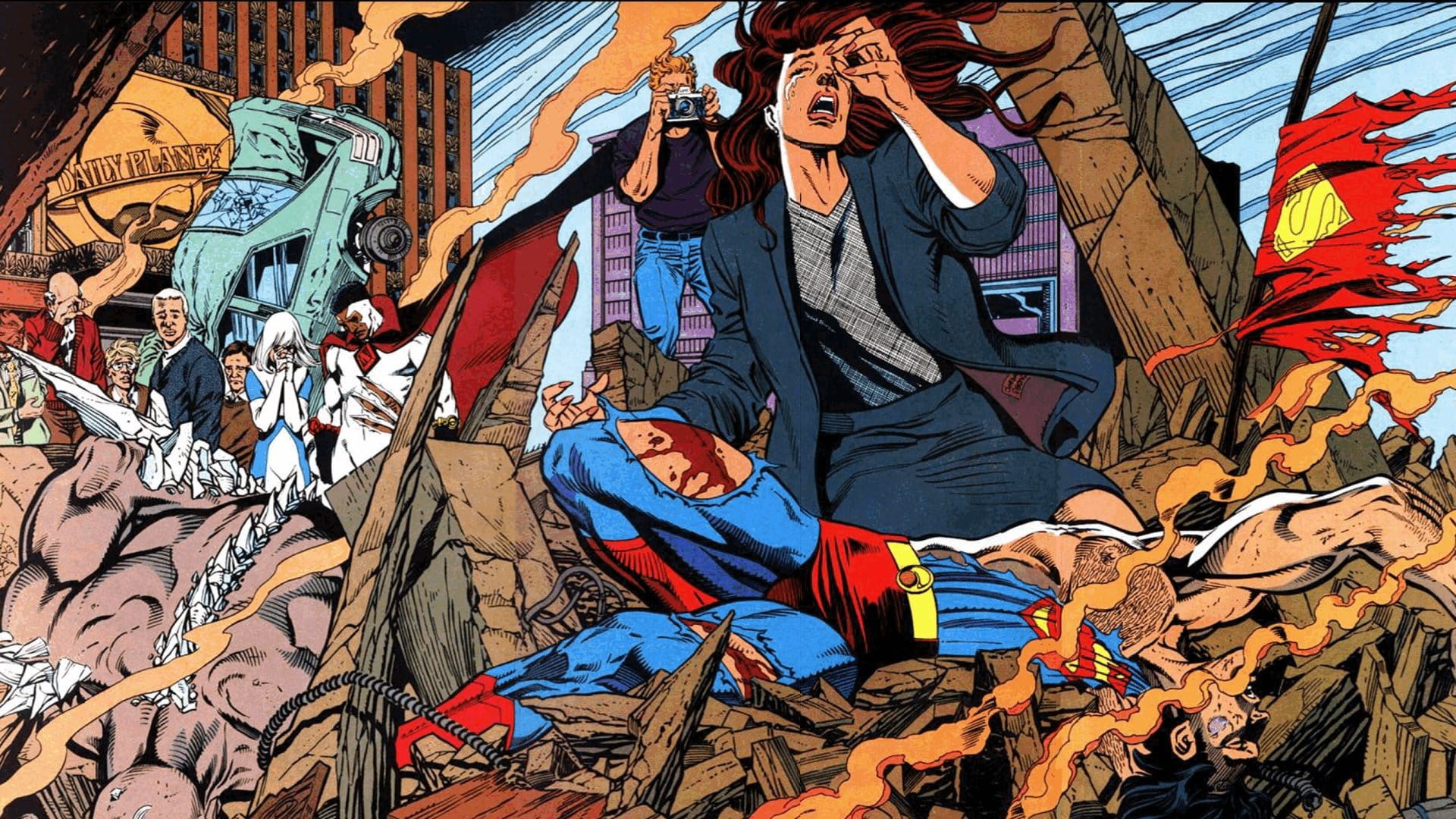 Novo Omnibus da Morte do Superman Chega aos EUA Em Abril