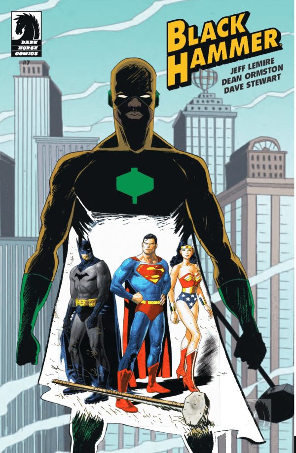 Black Hammer & Liga da Justiça terão Crossover 1