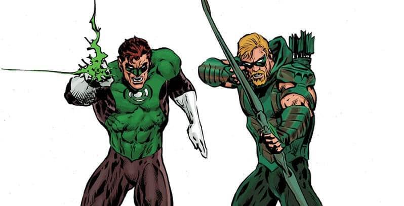 Grant Morrison Traz Homenagem a Lanterna Verde/Arqueiro Verde