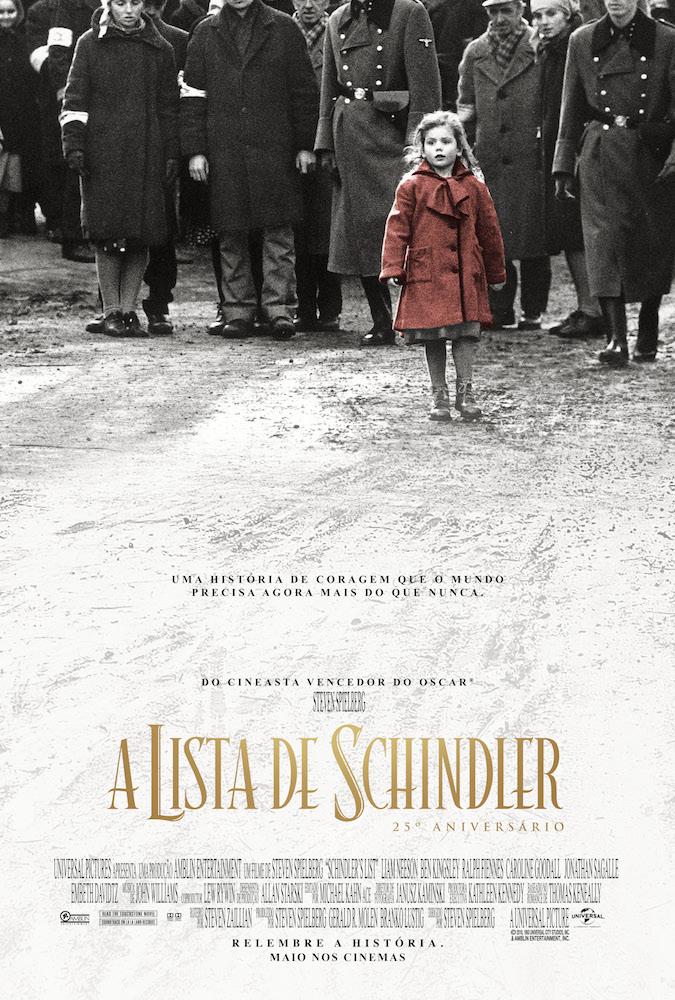 Universal lança cópia remasterizada de A Lista de Schindler em comemoração aos 25 anos da obra 2