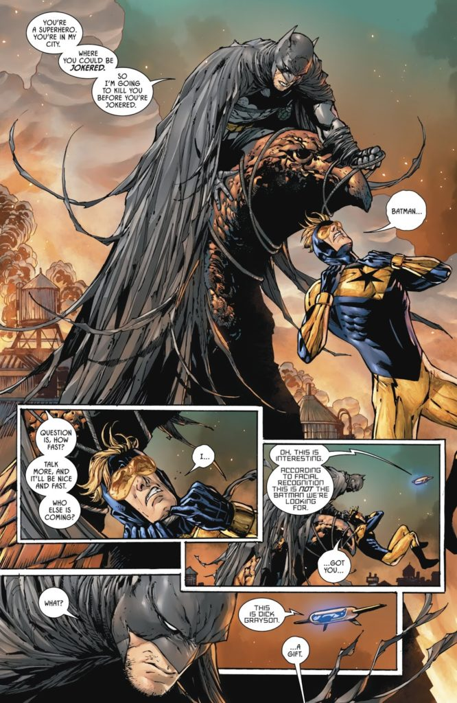 Batman & Gladiador Dourado de Tom King 3