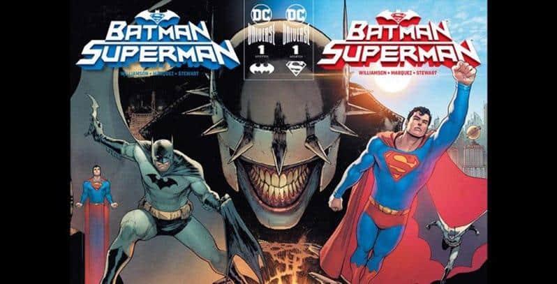 """Nova Revista """"Batman / Superman"""" Vai Abordar uma Grande Conspiração"""