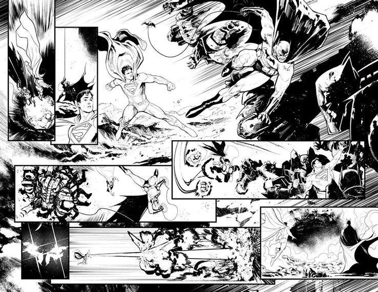 """Nova Revista """"Batman / Superman"""" Vai Abordar uma Grande Conspiração 1"""