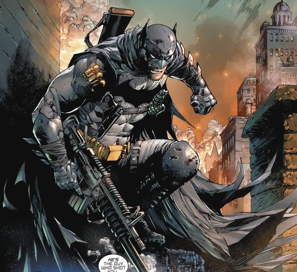 Batman & Gladiador Dourado de Tom King 2