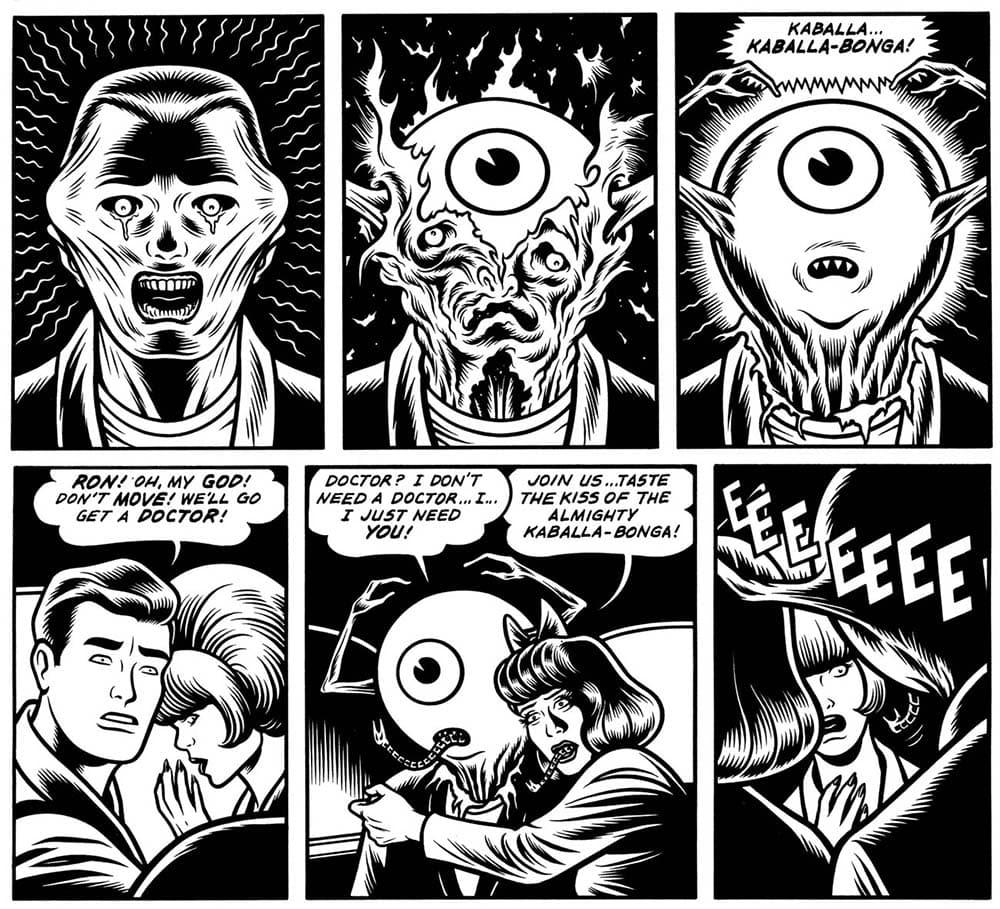 Conheça Black Hole de Charles Burns 2