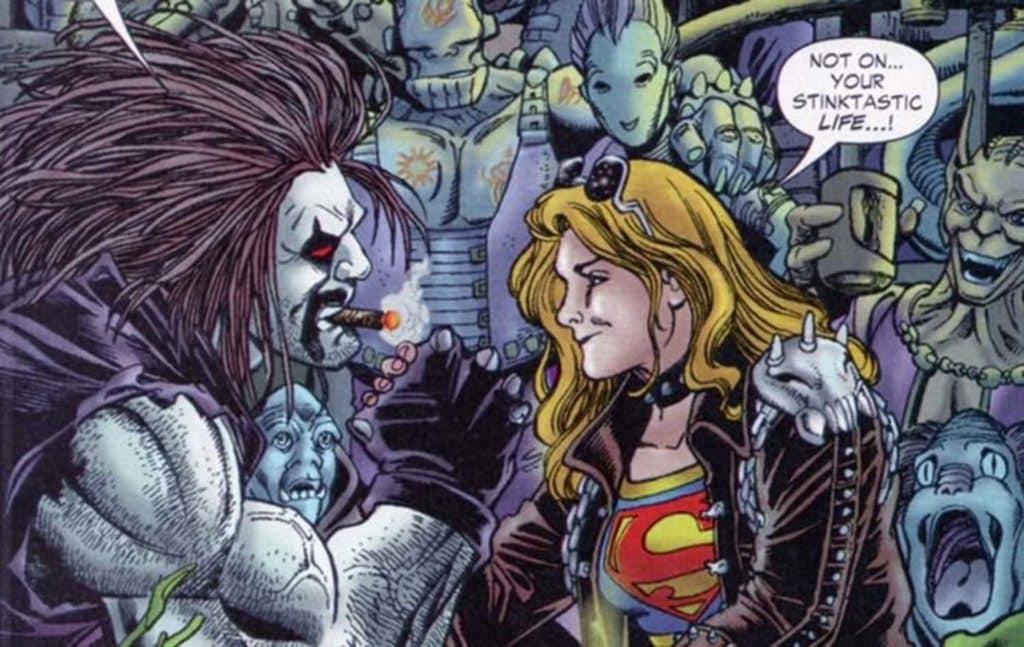 os donos da sorte coloca supergirl frente a frente com o lobo