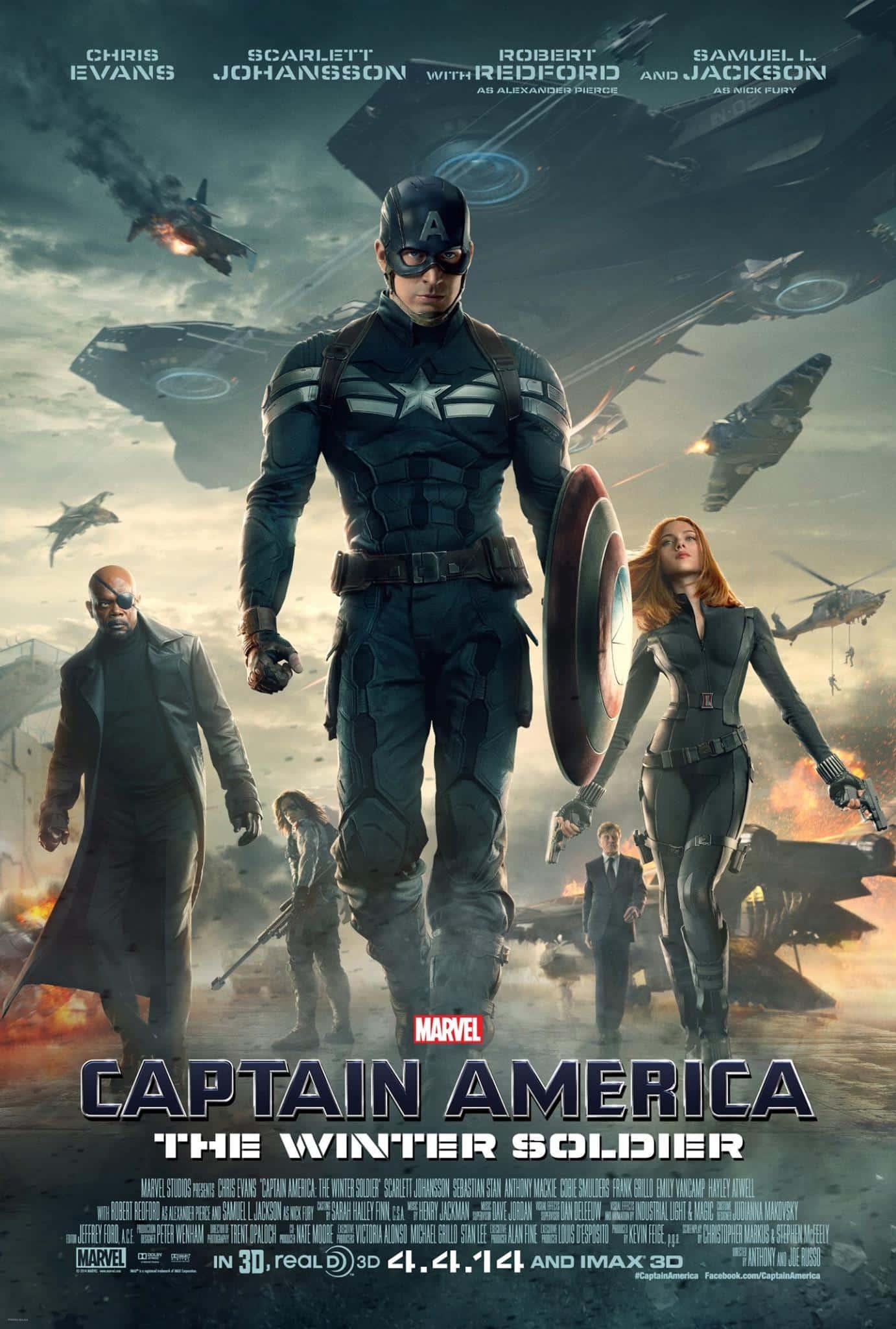 Capitão América - O Soldado Invernal - O Ultimato 1