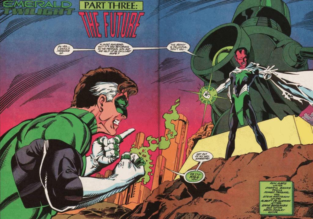 Lanterna Verde: Crepúsculo Esmeralda - O Ultimato 1