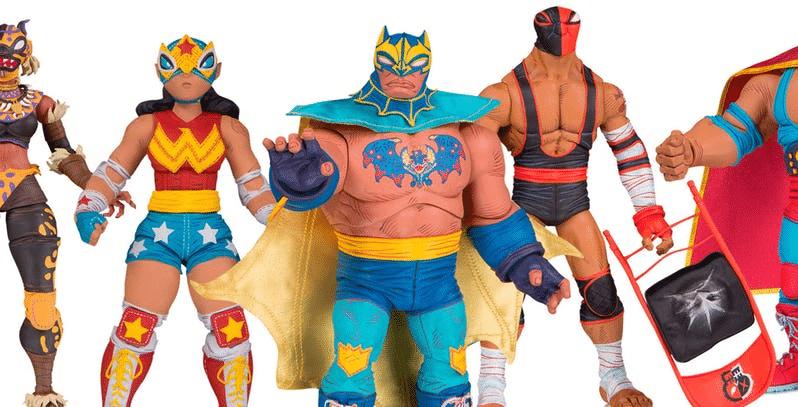 """O que aconteceu com a linha de Action Figures """"DC ¡Lucha Explosiva!""""?"""