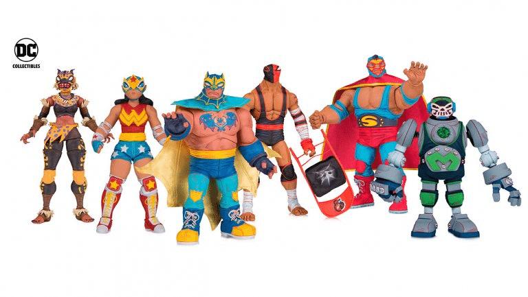 """O que aconteceu com a linha de Action Figures """"DC ¡Lucha Explosiva!""""? 1"""