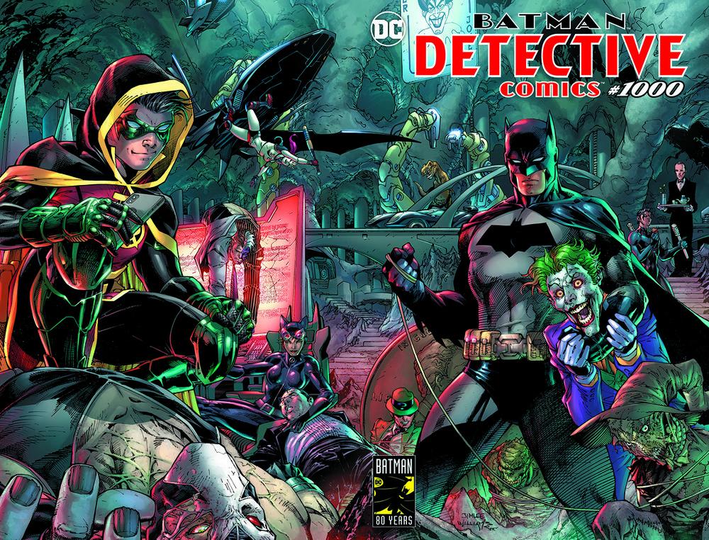 Batman Lidera as Vendas de Quadrinhos em Março 1