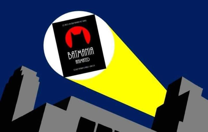 Lançamento do Livro Batmania Animated