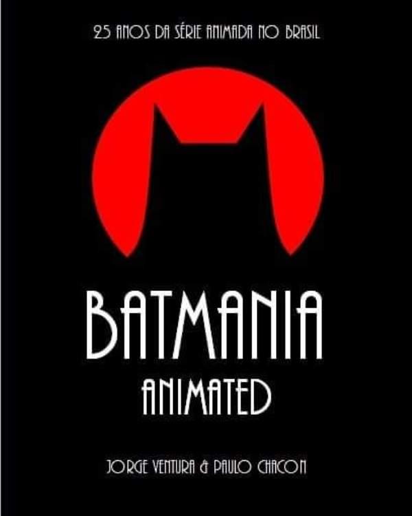 Lançamento do Livro Batmania Animated 2