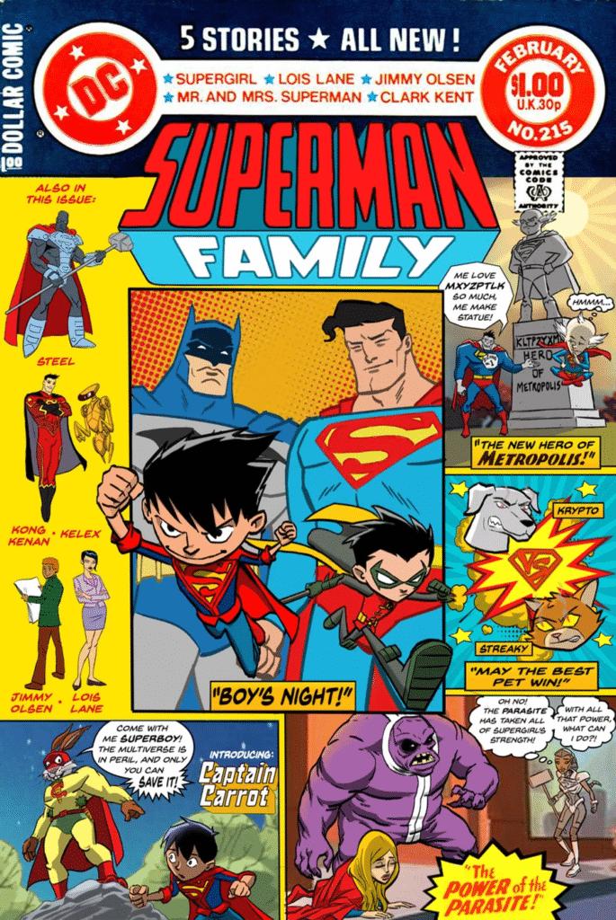 Família do Superman Quase Virou a Nova Animação da DC 3