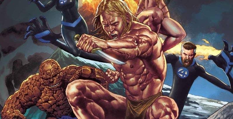 Novo Personagem Marvel será inserido em série do Quarteto Fantástico!
