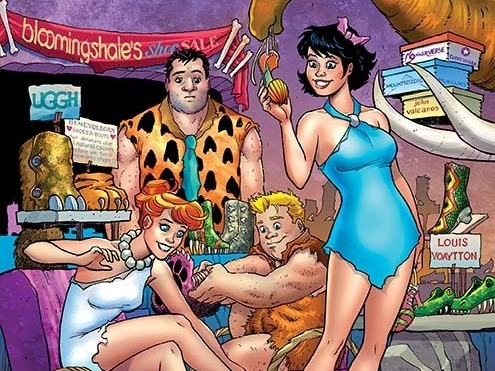 Os Flintstones de Mark Russell 1