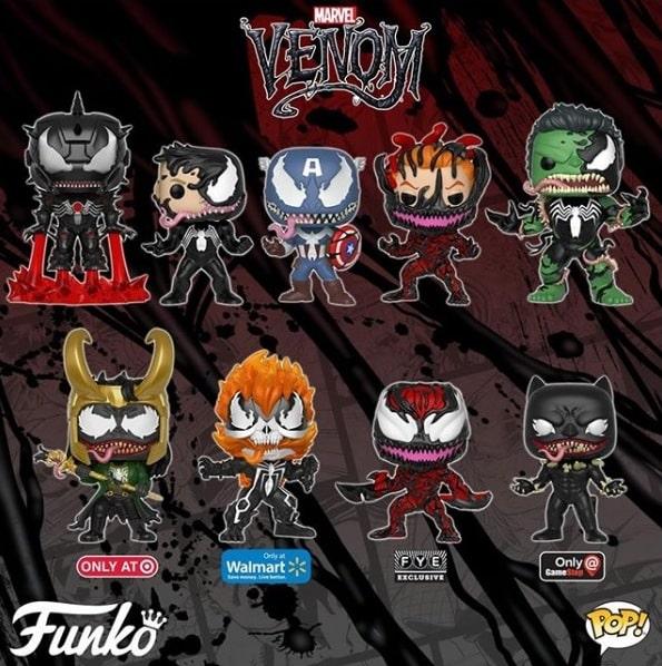 Personagens Marvel são Venomizados em nova coleção da Funko 2