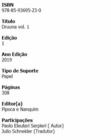 Druuna ganhará nova publicação pelo Pipoca & Nanquim 2