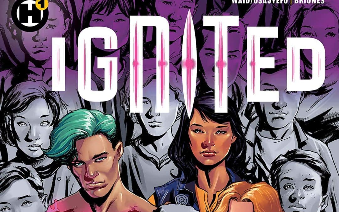 Confira o preview de Ignited #1, de Mark Waid e Kwanza Osajyefo, do H1 Universe