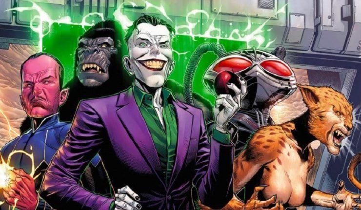 Scott Snyder começa com tudo na nova fase da Liga da Justiça!