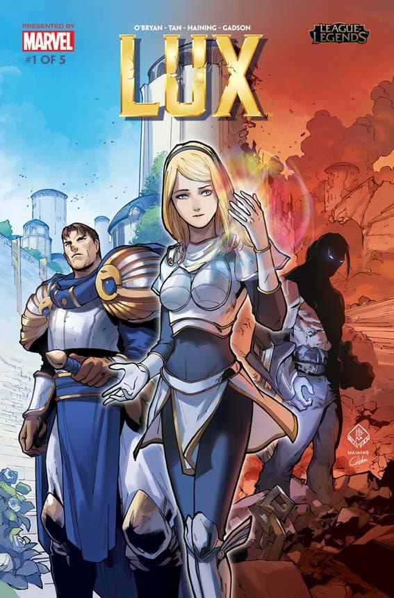 Riot Games lança nova coleção de histórias em quadrinhos chamada League of Legends: Lux 1