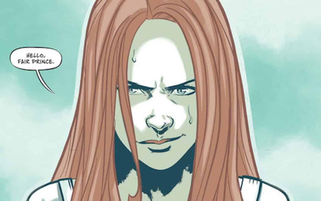 Stephen Byrne divulga primeiras imagens de Mera: Tidebreaker, primeira graphic novel do selo DC Ink