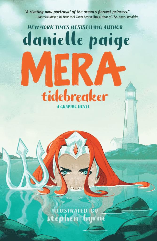 Stephen Byrne divulga primeiras imagens de Mera: Tidebreaker, primeira graphic novel do selo DC Ink 2