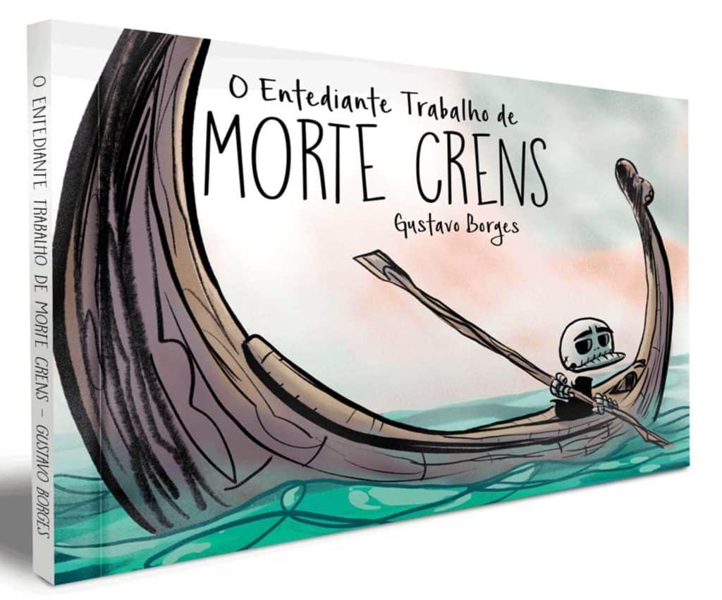 Gustavo Borges está de volta com o terceiro livro de Morte Crens 4
