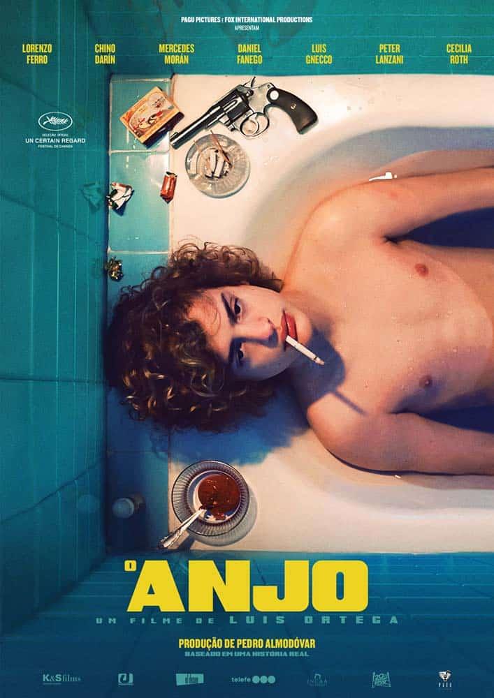 Pagu Pictures divulga pôster e trailer nacional de O Anjo, longa argentino produzido por Pedro Almodóvar 2
