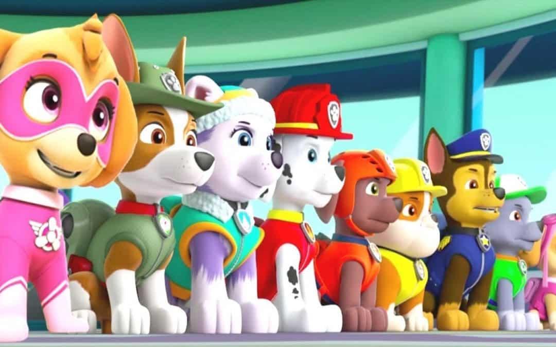 Estreia no mês que vem, nos cinemas, o filme da Patrulha Canina!