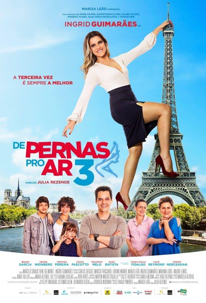 Pre-estreia de De Pernas pro Ar 3 em Curitiba tem presença de Maria Paula 2