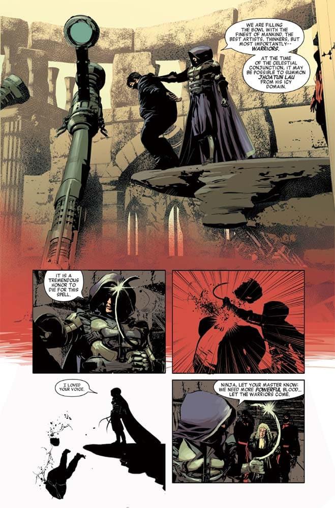 Nova Equipe de Vingadores que reunirá Conan e Wolverine ganha prévia 3