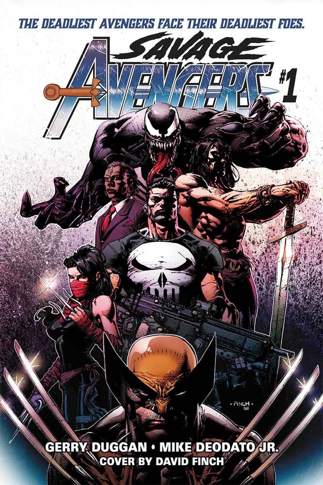 Nova Equipe de Vingadores que reunirá Conan e Wolverine ganha prévia 1