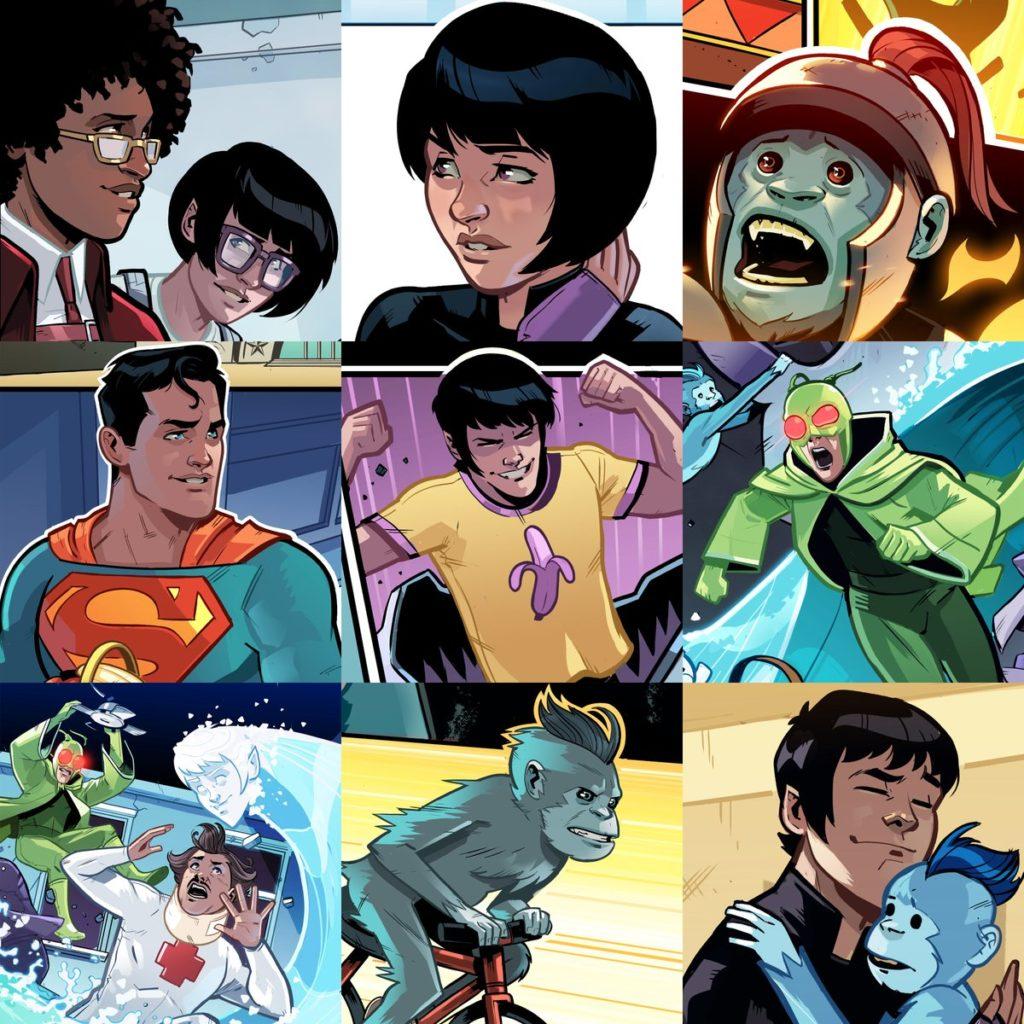 Super Gêmeos são Integrados a Cronologia Oficial da DC! 1