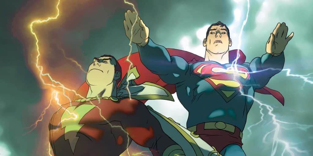 Superman e Shazam O Primeiro Trovão - O Ultimato 1