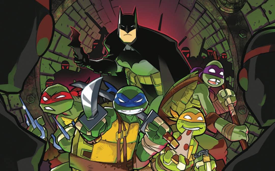 Tartarugas Ninja Ganham Trajes Inspirados no Batman