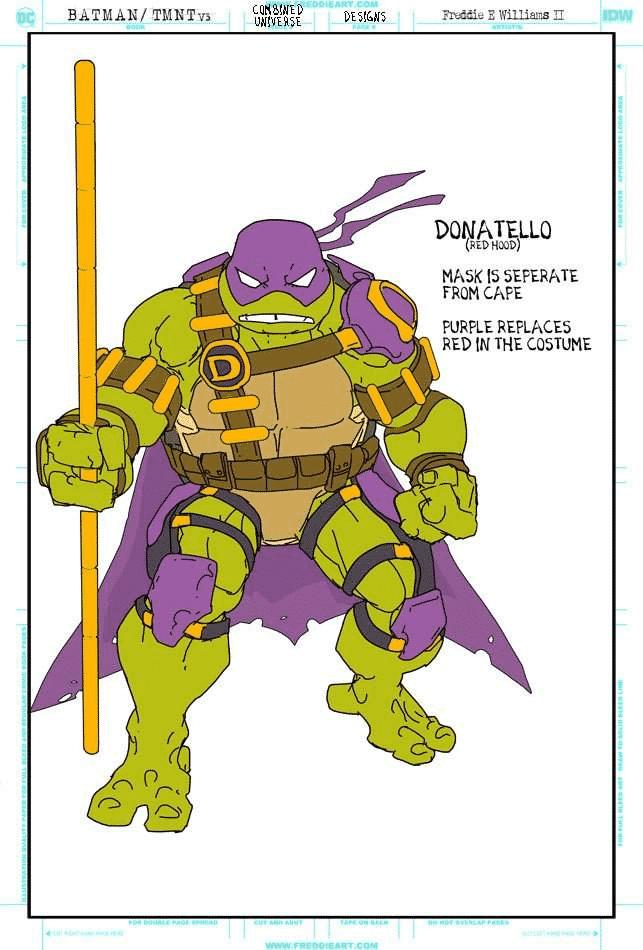 Tartarugas Ninja Ganham Trajes Inspirados no Batman 2