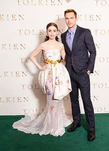 Confira as fotos do elenco de Tolkien em Londres 2