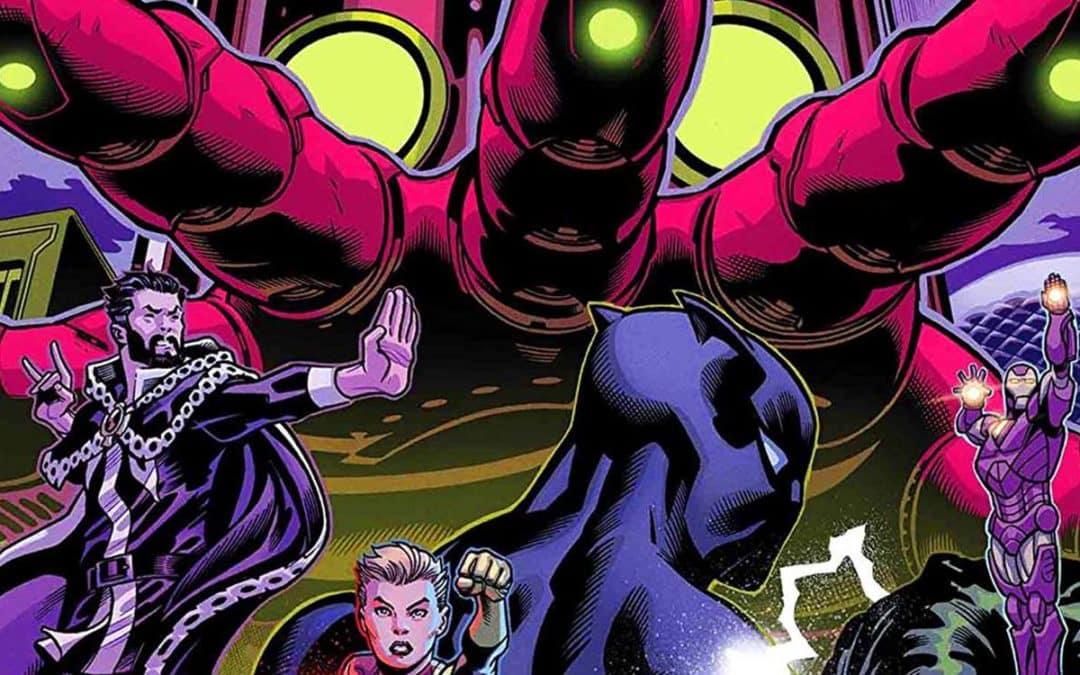 O que já vimos dos Vingadores de Jason Aaron?
