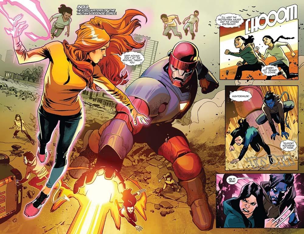 X-Men Equipe Vermelha de Tom Taylor 2