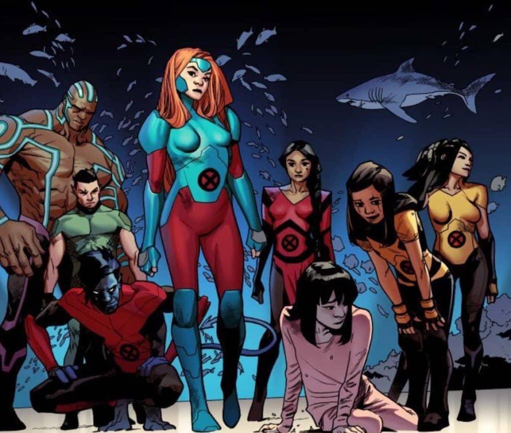 X-Men Equipe Vermelha de Tom Taylor 3