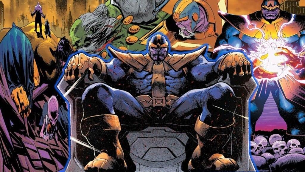 Panini anuncia pré-venda da Saga de Thanos