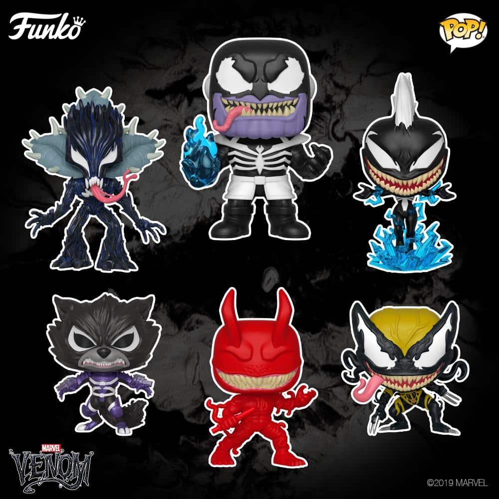 Personagens Marvel são Venomizados em nova coleção da Funko 1