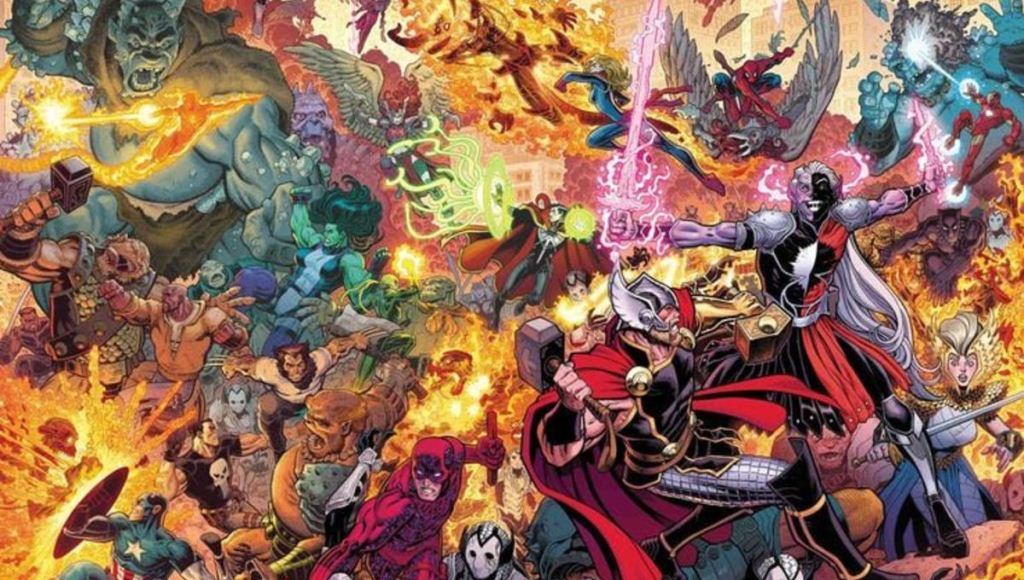 """Acts of Evil"" Chegando em Julho na Marvel Comics"