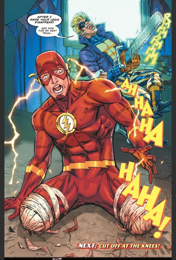 Trapaceiro Derrota o Flash em Definitivo? 1