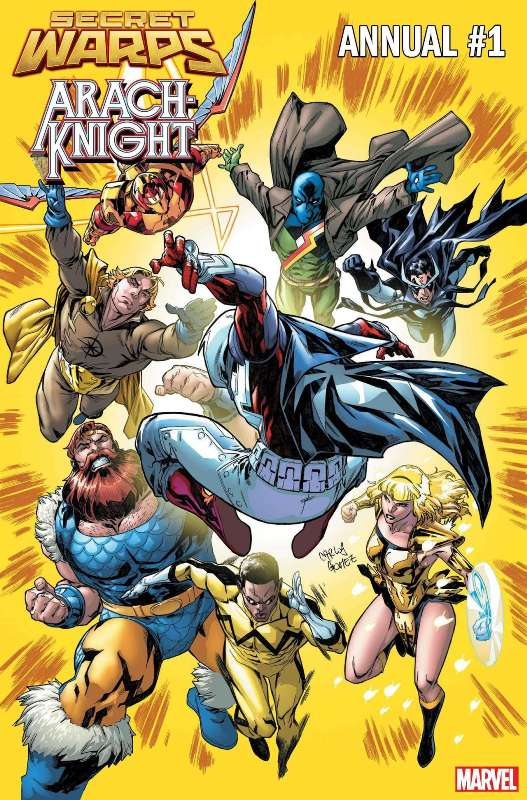 O universo amálgama da Marvel estará de volta em julho 4