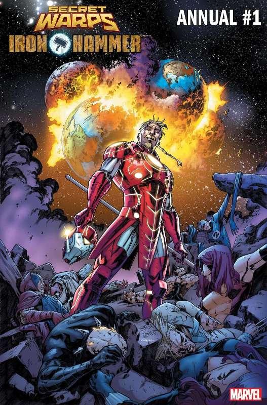 O universo amálgama da Marvel estará de volta em julho 5