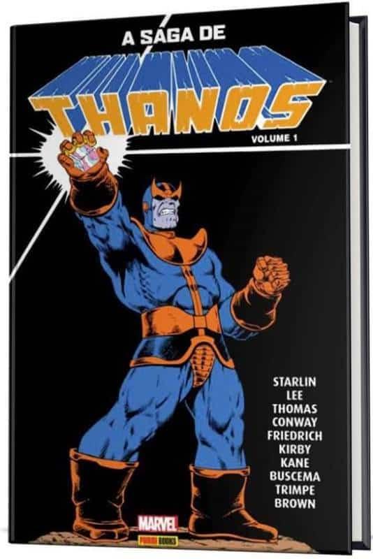 A Saga de Thanos chega às bancas e livrarias pela Panini 2
