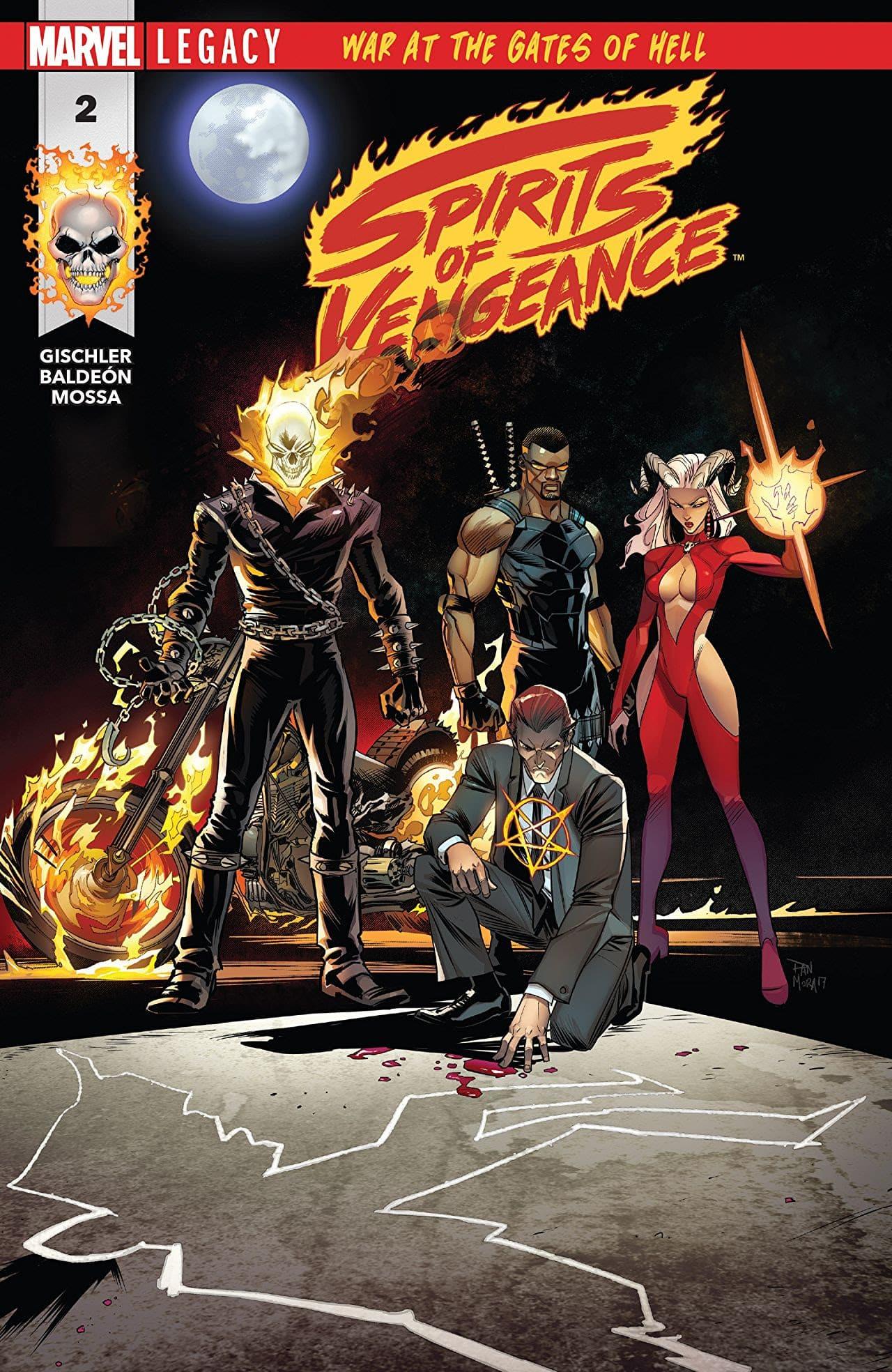 Os Espíritos da Vingança da Marvel 1